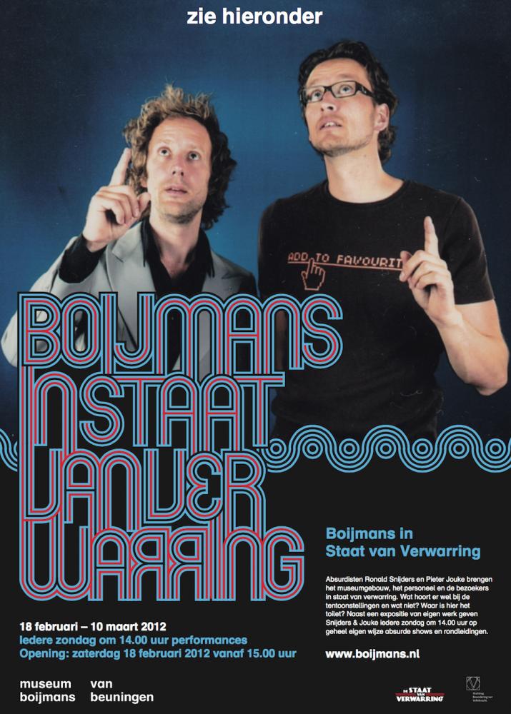 Boijmans in Staat van Verwarring Affiche (2012)